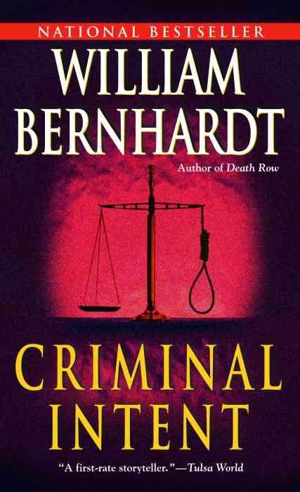 Criminal Intent By Bernhardt, William